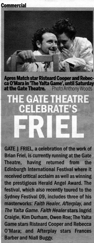 Gate Celebrates Friel 2